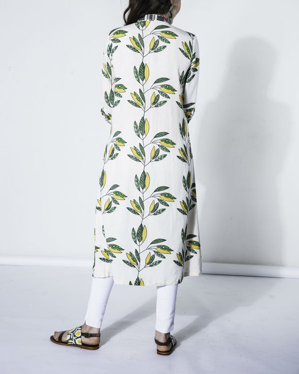 Leaf cotton tunic 3