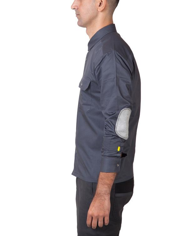 Grey utility shirt 1