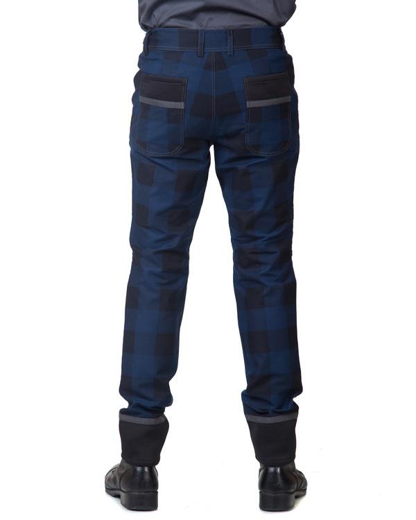 Blue utility trouser 5