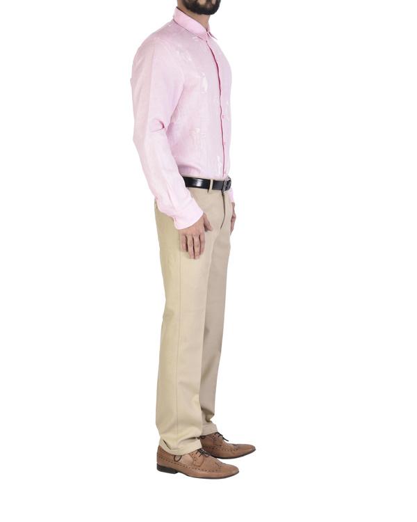 Pink shirt with motif 2