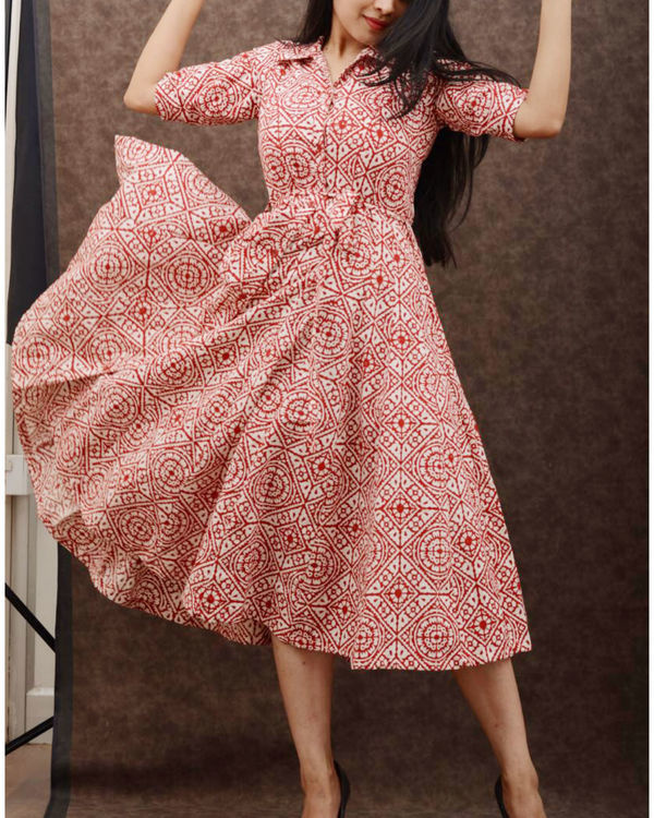 Kaleidoscope dress 1