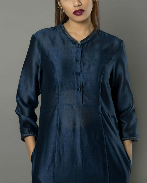 Sico navy kurta set 2