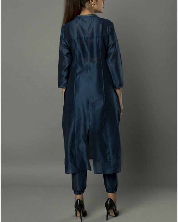 Sico navy kurta set 3