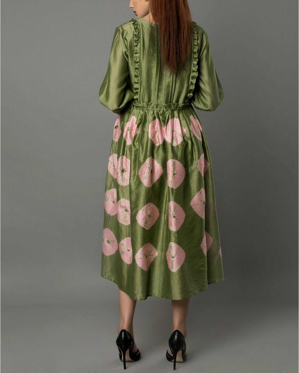 Notte olive dress 2