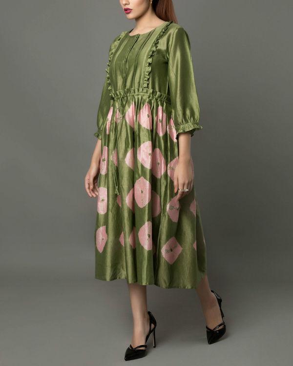 Notte olive dress 3