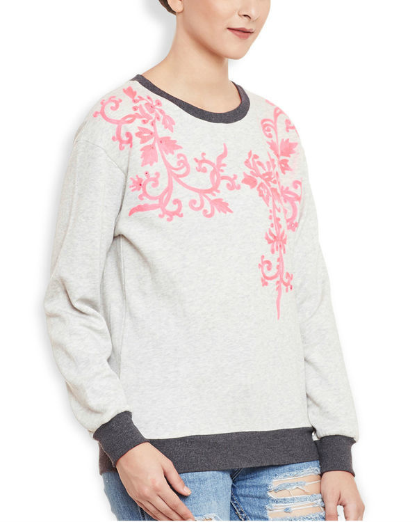 Neon grey sweatshirt 2