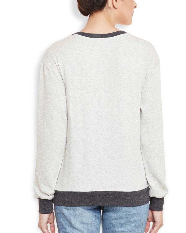 Neon grey sweatshirt 3
