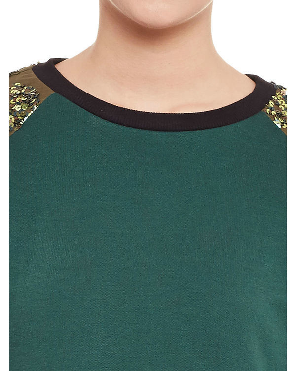 Olive sweatshirt 1