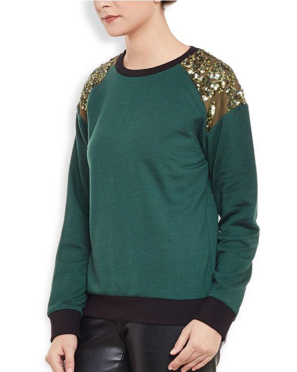 Olive sweatshirt 2