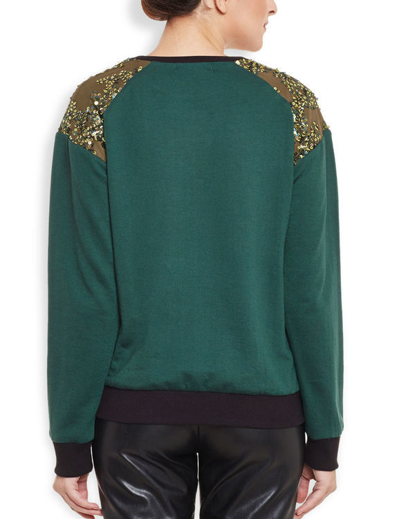 Olive sweatshirt 3
