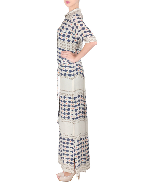 Long ankle length double georgette tunic 4