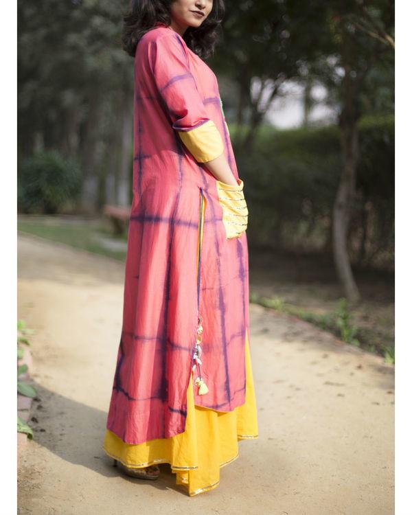 Pink tie dye tunic 2