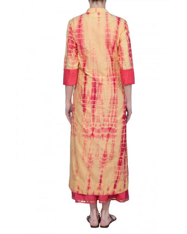 Coral tie dye tunic 2