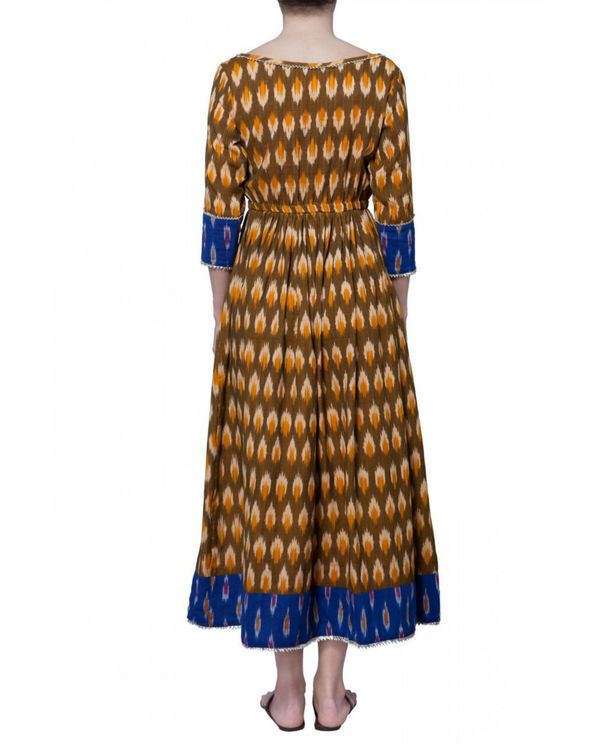 Sunny ikat cotton dress 1