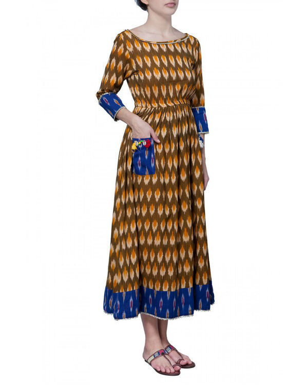 Sunny ikat cotton dress 2