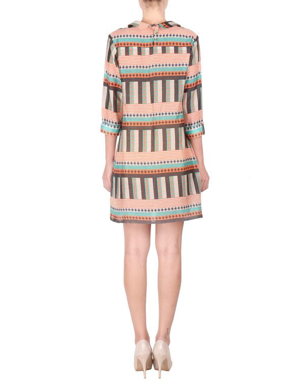 Linen shirt dress 2