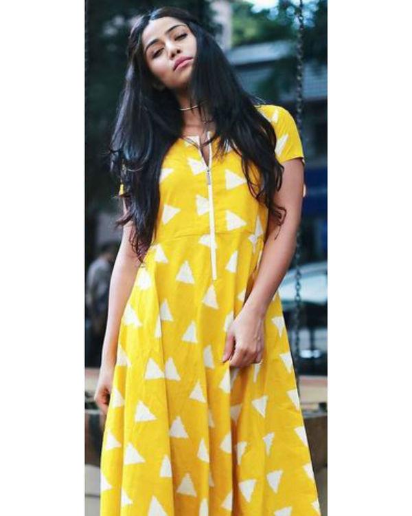 Amber zip dress 1