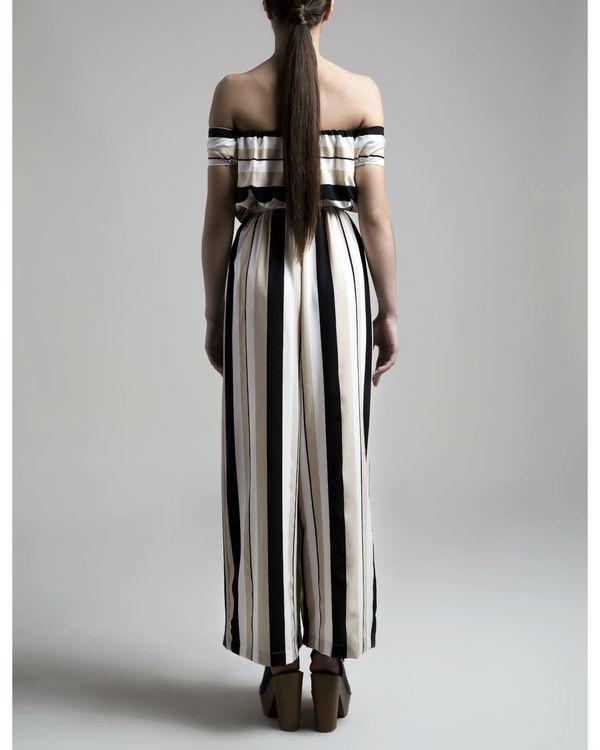 Striped jumpsuit 2