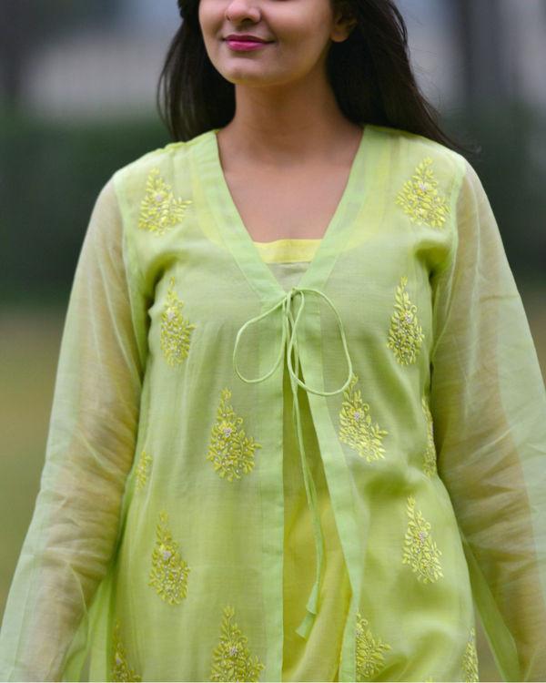 Pastel green tunic 1