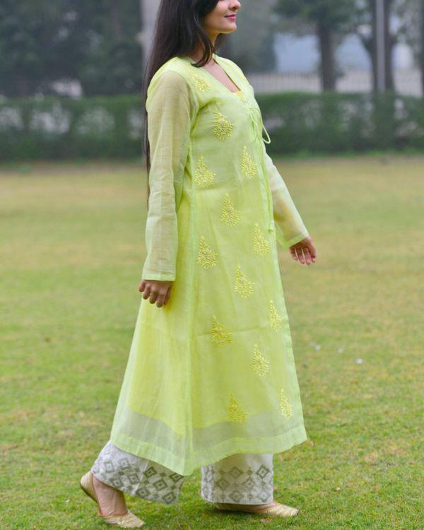 Pastel green tunic 2