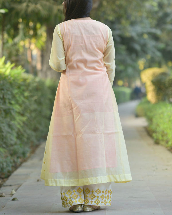 Pastel yellow tunic 2