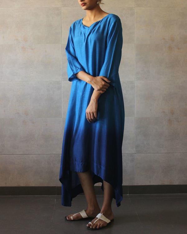 Blue ombre tunic 1