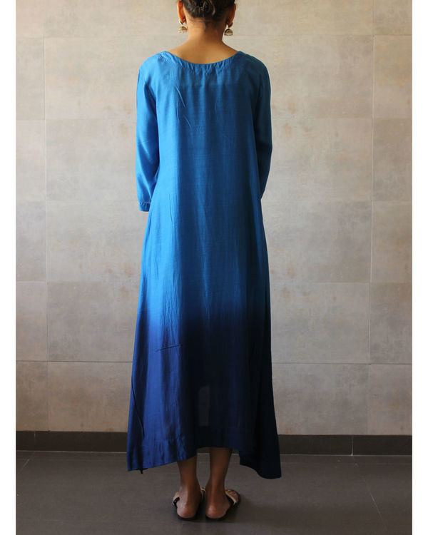 Blue ombre tunic 2