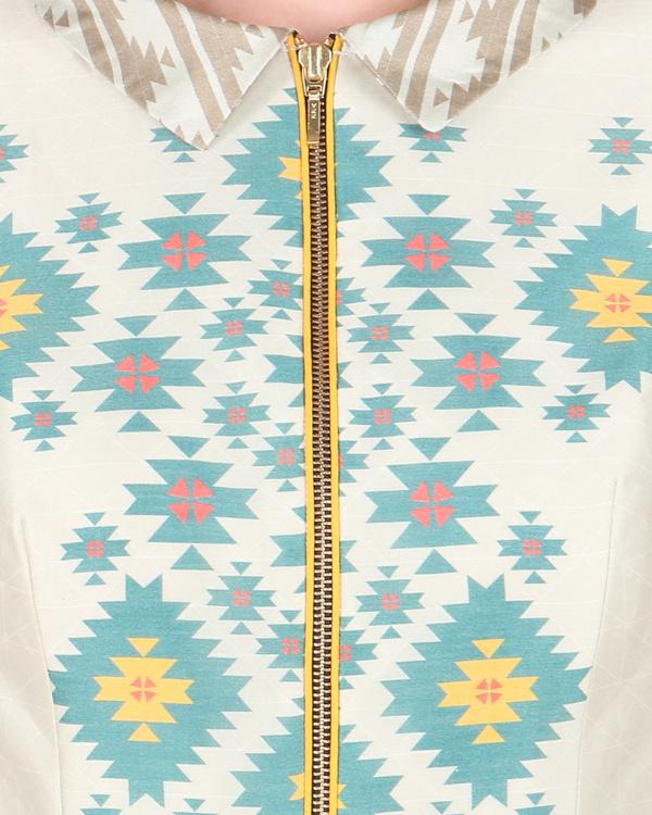 Chanderi long ankle length dress 1