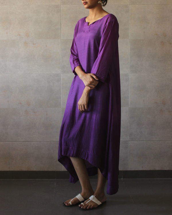 Violet ombre tunic 1