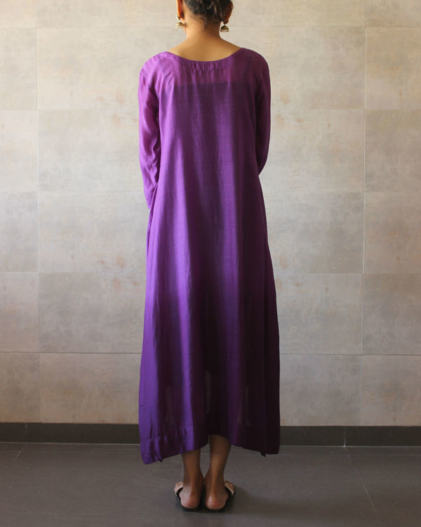 Violet ombre tunic 2