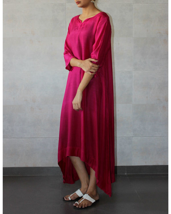 Pink ombre tunic 1