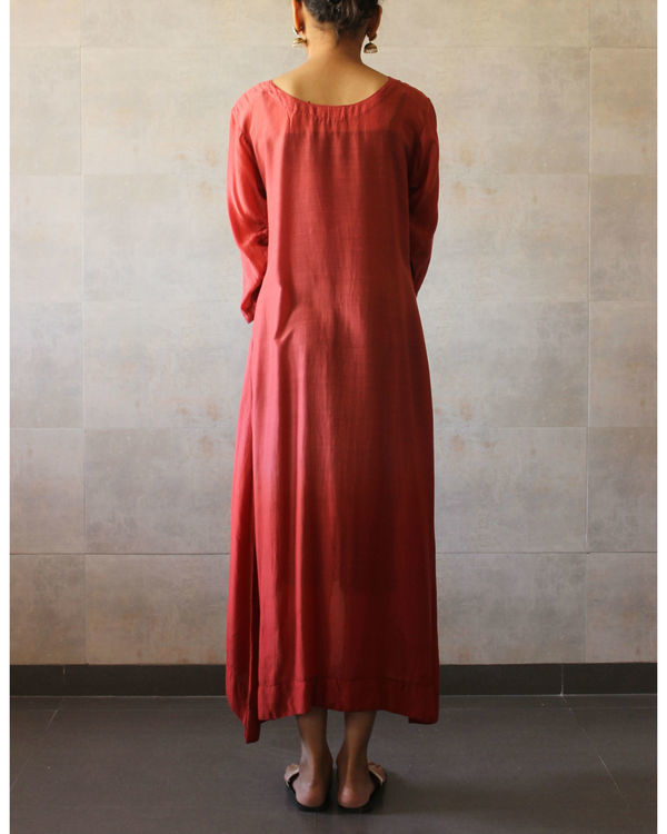 Rust ombre tunic 2