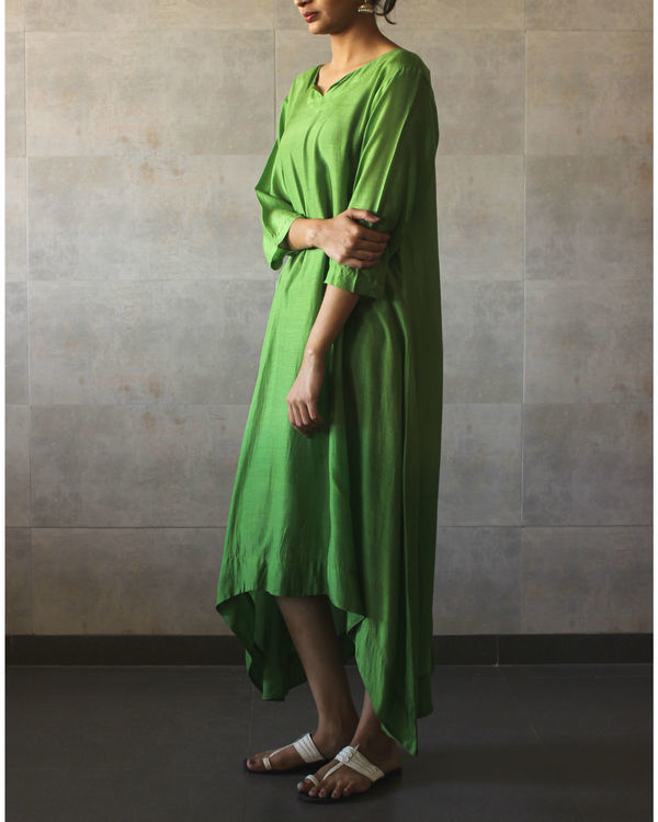 Green ombre tunic 1