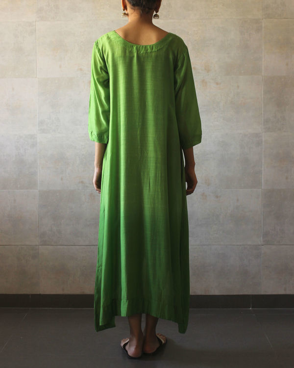 Green ombre tunic 2