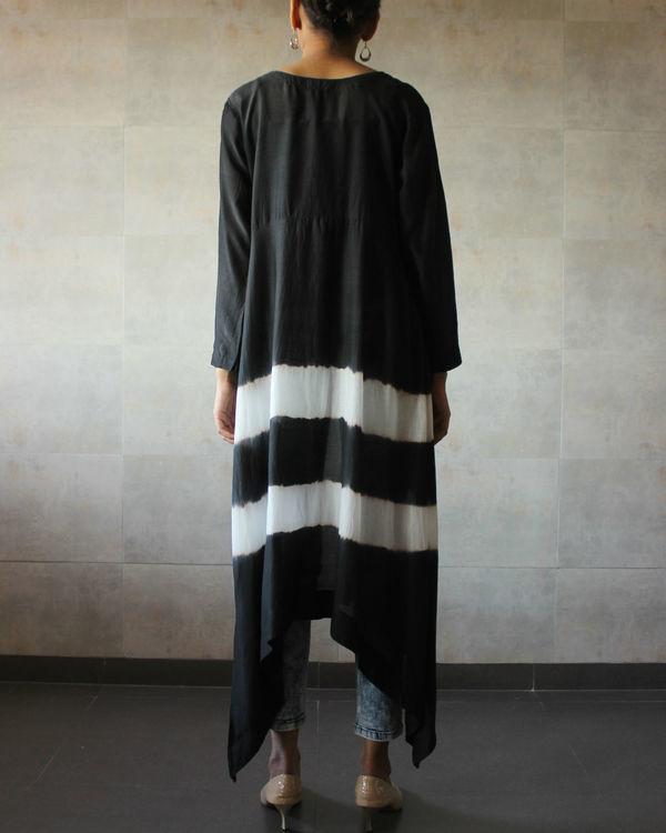 Black batik cape 2
