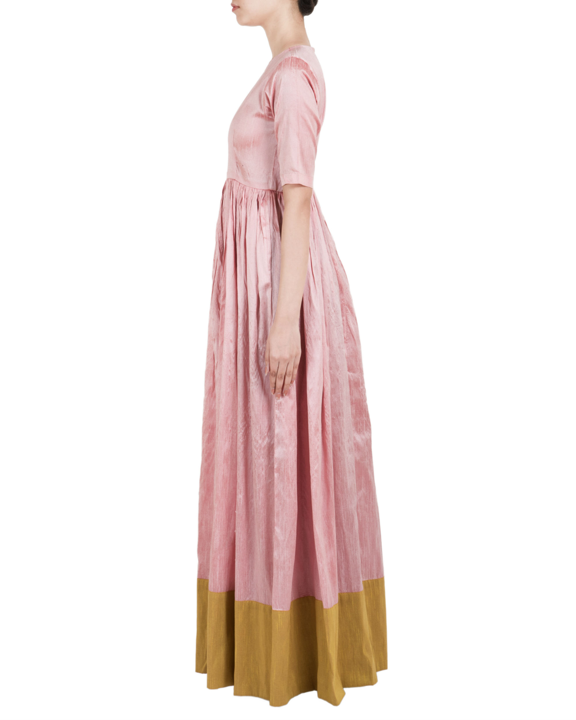 Rose Fashion Store Home: Rose And Quartz Green Straight Dress By TrueBrowns