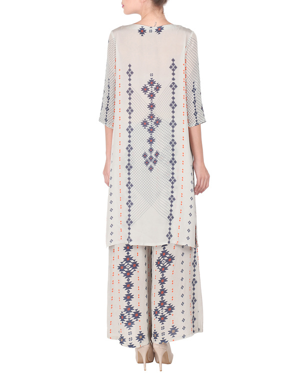 Long kurta with palazzo pants 2