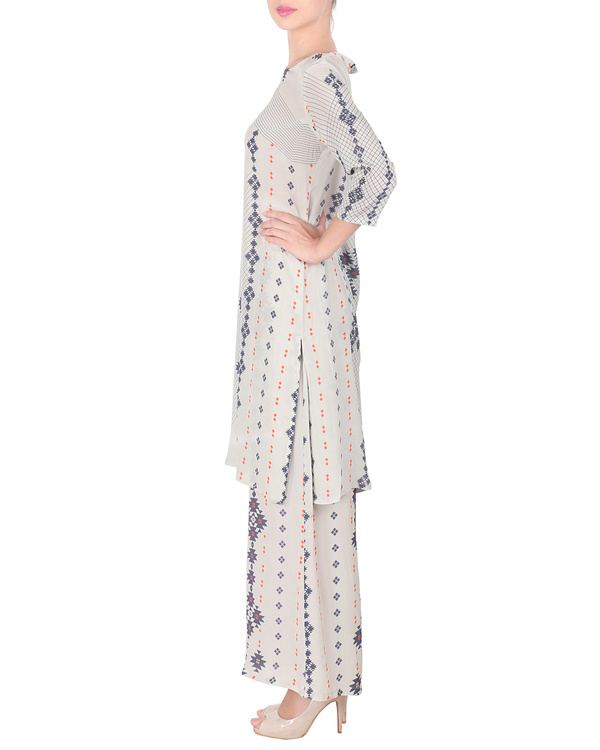 Long kurta with palazzo pants 3