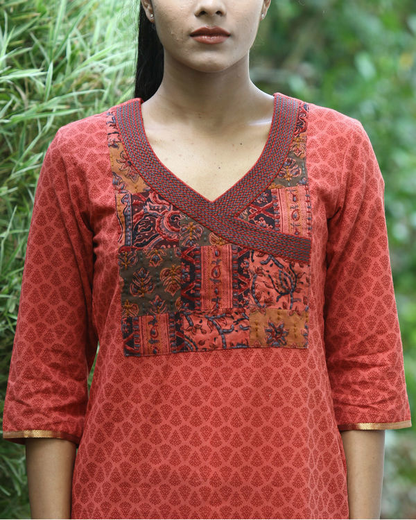 Gajari cotton kurta 2