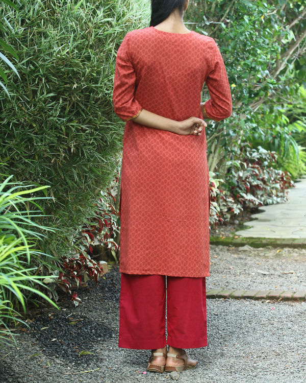 Gajari cotton kurta 4