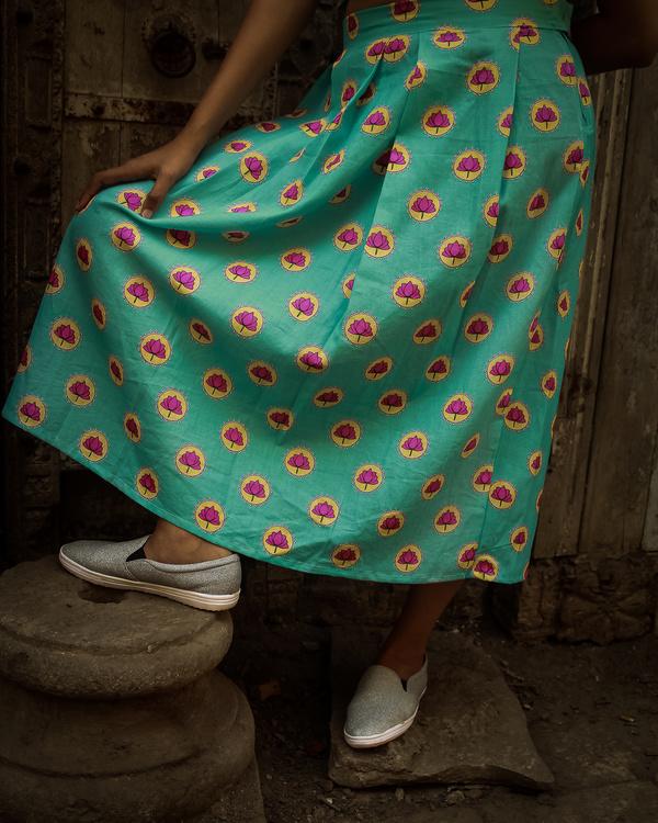 Phulwari skirt 1