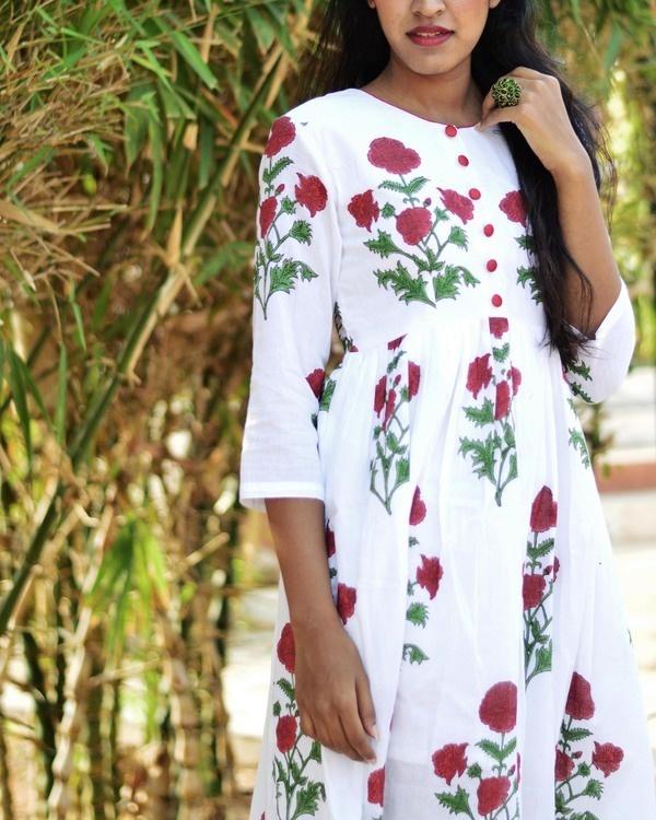 White rose midi 3