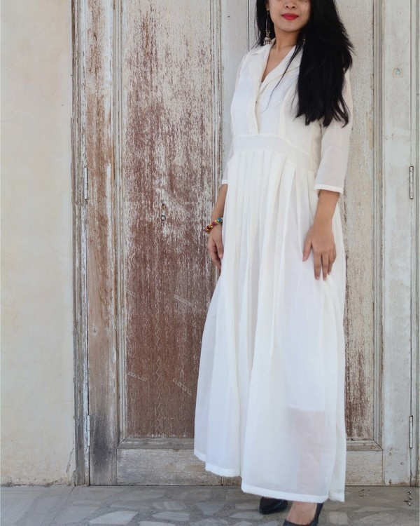 White serenity gown 2