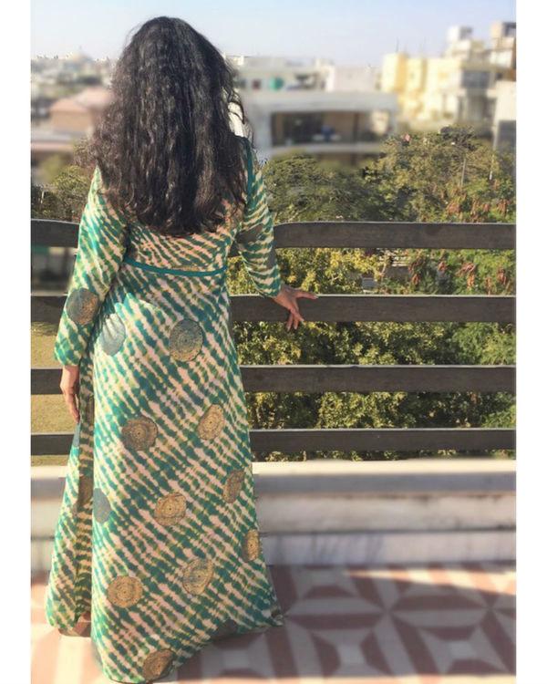 Achkan double dress 1