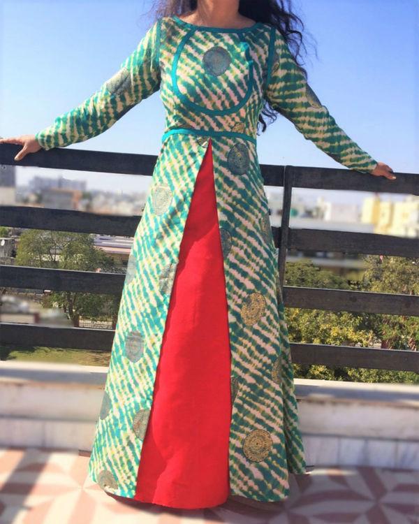 Achkan double dress 2