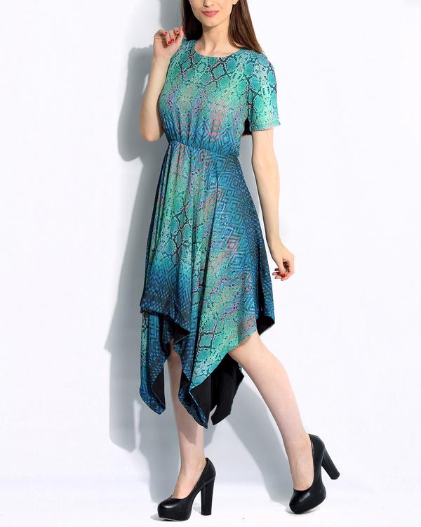Green  snake dress 1