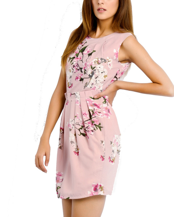 Pink brunch dress 1