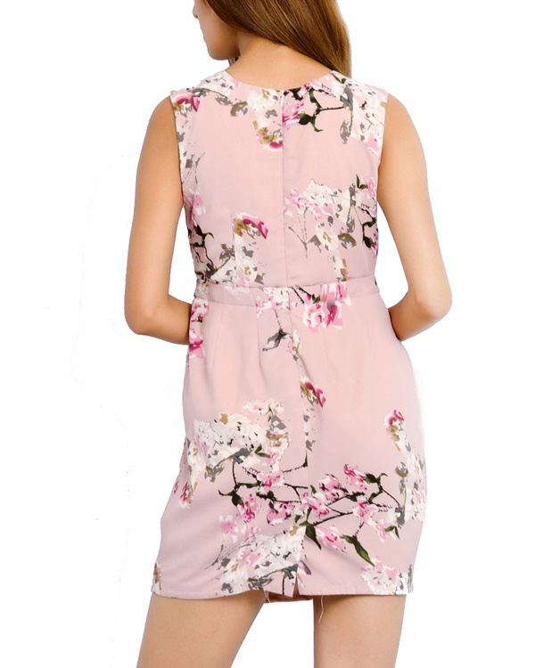 Pink brunch dress 2