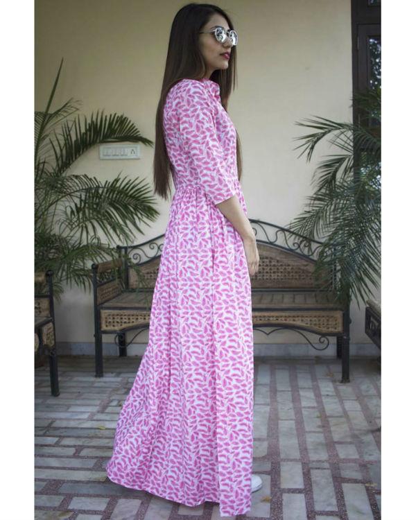 Pink patti maxi dress 1