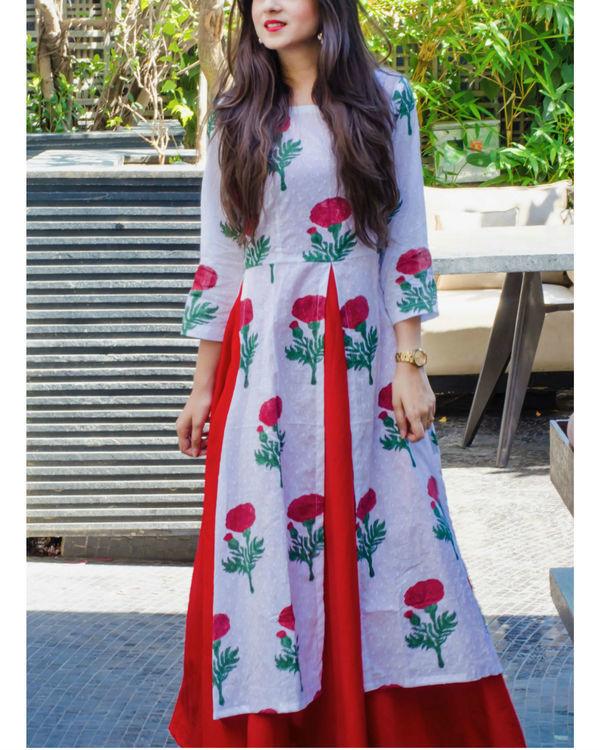 Layered rose dress 1